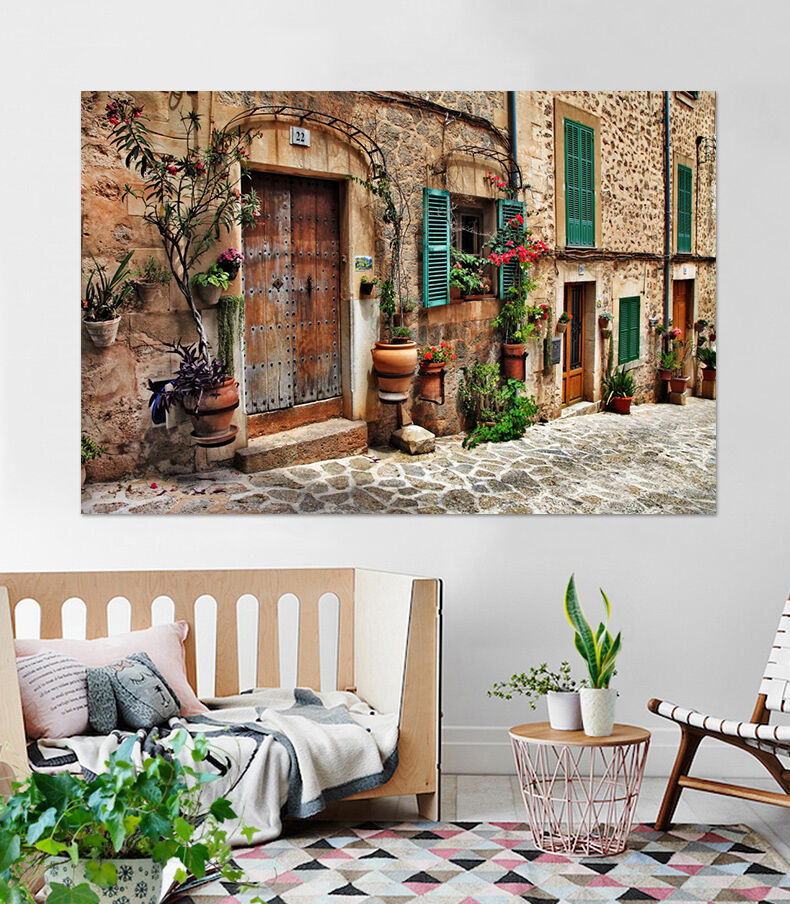 3D Die Straße Pflanzen 528 Fototapeten Wandbild BildTapete AJSTORE DE Lemon