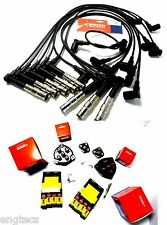 BREMI 500 W140 W124 ZÜNDKABELSATZ + 8x ZÜNDKERZE + 2x VERTEILERKAPPE + 2x FINGER