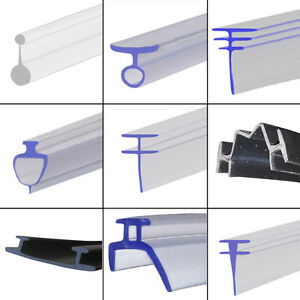 Soft rubber shower seal extrusion for fold folding sliding glass door - Pvc Soft Rubber Track Channel Bifold Folding Shower Seal