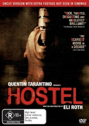 1 of 1 - Hostel (DVD, 2006)     Region 4 ***BRAND NEW***