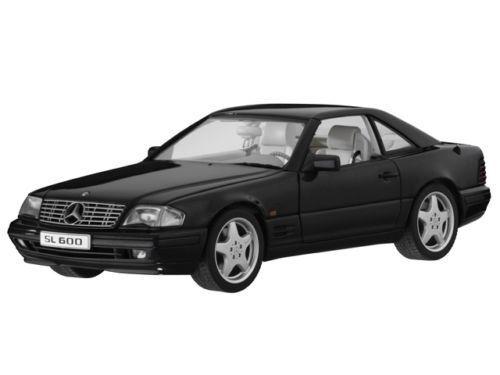 AUTOART MERCEDES-BENZ SL600 Noir RARE Dealer Edition 1 18Now sold Out  Dernier