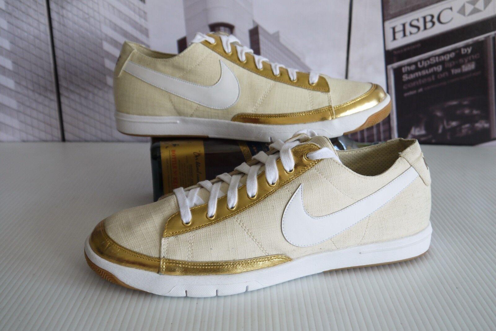 2007 Nike Women's Blazer LP 314386 111 Cream Metallic Gold women's US 11