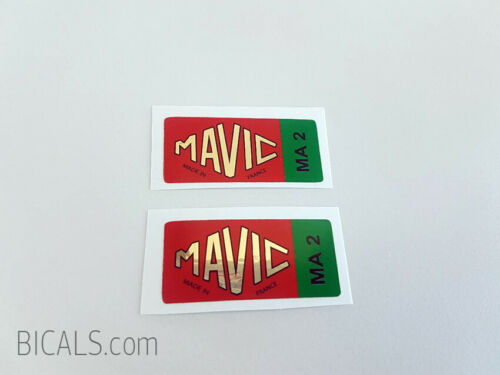 MAVIC MA2 decal sticker for rims silk screen free shipping