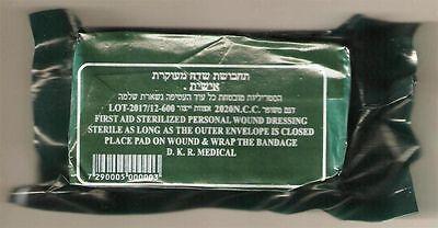 "New 3 Pack- Israeli 4"" Trauma Bandages Military Tactical Emergency Dressing IDF"