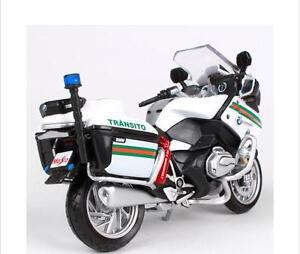 Maisto 1 18 Bmw R1200rt Portugal R 1200 Rt Police Motorcycle Bike