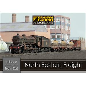 Graham Farish 370-090 North Eastern Freight Train Set N Gauge