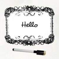 Decorative Dry Erase Board with Marker