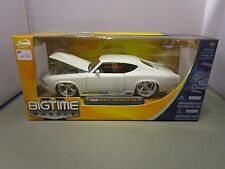 JADA 1/24 BIGTIME MUSCLE WHITE 1969 CHEVY CHEVELLE SS USED IN BOX VERY COOL