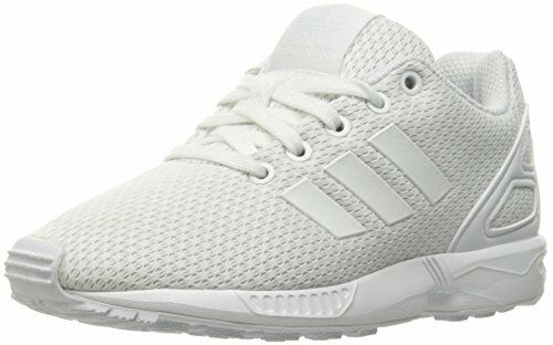 850cafeb1 adidas ZX Flux Little Kids S76296 White Mesh Athletic Shoes Youth Size 11  for sale online