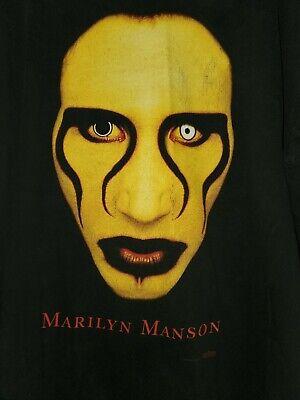 New MARILYN MANSON 1997 Sex is Dead 90/'s T-Shirt Gildan Heavy Cotton Reprint