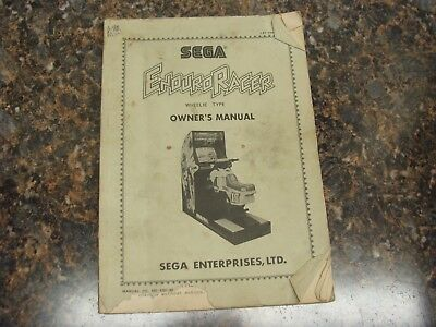 Atlanta In Charitable Enduro Racer Video Arcade Game Service Manual Quality Superior 348