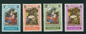 Montserrat-1970-Christmas-full-set-of-stamps-MNH-Sg-255-258