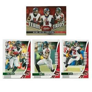 Atlanta-Falcons-Panini-NFL-2019-Parallel-Insert-4-Card-Set