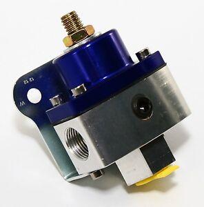 Blue-Billet-Aluminum-Fuel-Pressure-Regulator-5-12-PSI-Carbureted-Applications
