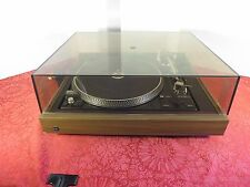 DUAL 1257 TURNTABLE w/ LID Tested/ Working- Good Condition Great Sound Automatic