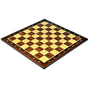 Professional Tournament Chess Board No 5 standard sized wooden Hand crafted