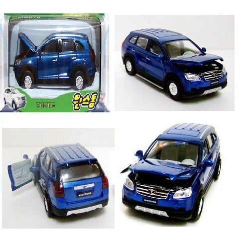 GM Chevrolet Captiva GM Daewoo Winstorm Diecast Car Miniature 1/35