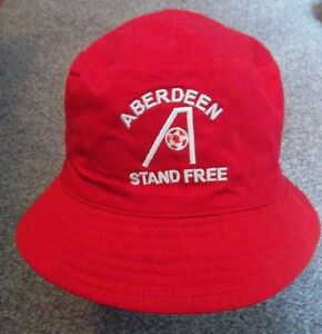 Image is loading ABERDEEN-FC-BUCKET-HAT-STAND-FREE 686b10e0642