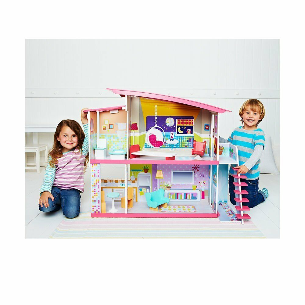 Early Learning Centre ELCMagic Dolly Duplex Dolls' House - New