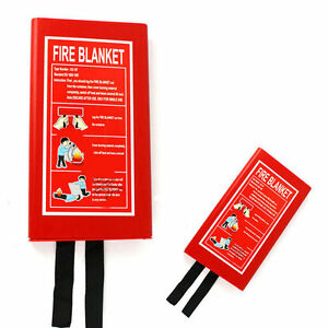 HOME-SAFETY-FIRE-BLANKET-PROTECTION-1M-X-1M-BOX-SEALED-BRAND-NEW-PHOTOLUMINESCEN