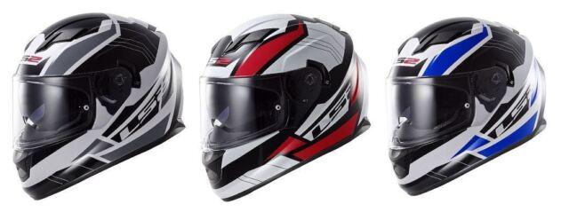 Ls2 Ff393 Convert Motorcycle Helmet Black L For Sale Online Ebay