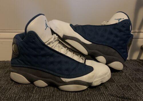 Nike Air Jordan Retro 13 XIII Flint Blue White 414