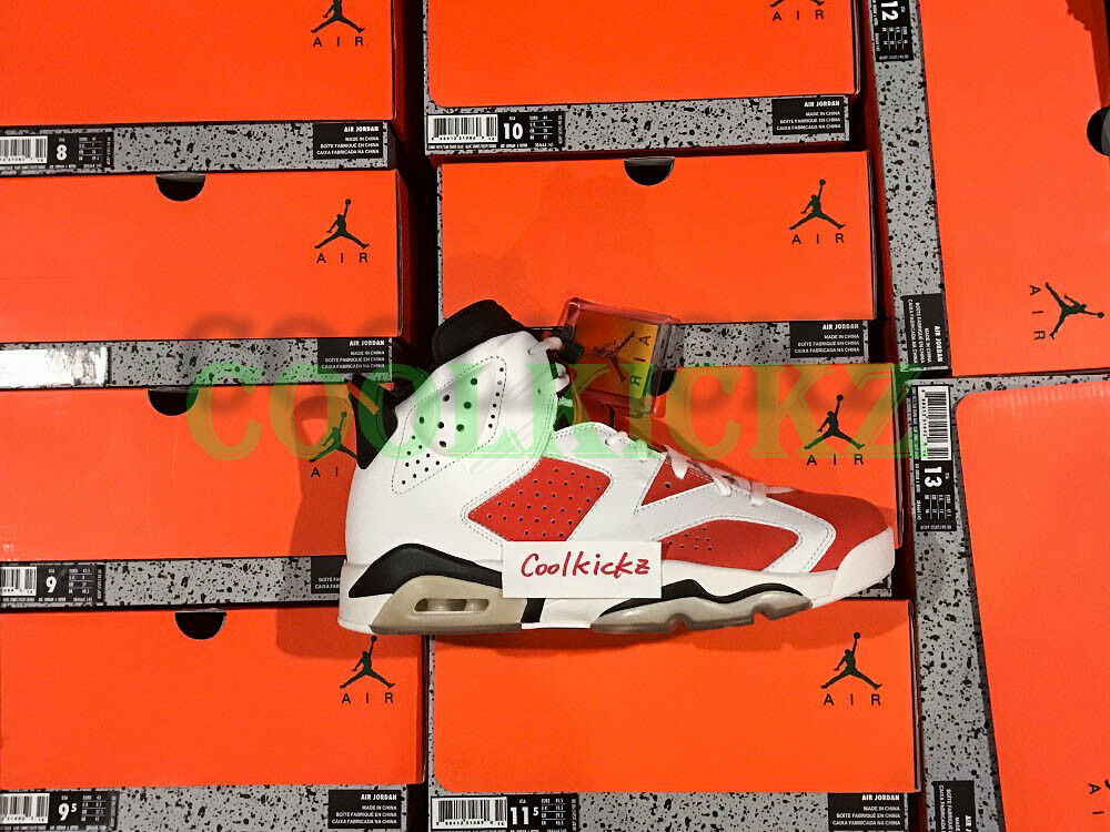 SHIP NOW Nike Air Jordan 6 VI Gatorade Like Mike 4Y-13 White orange 384664-145
