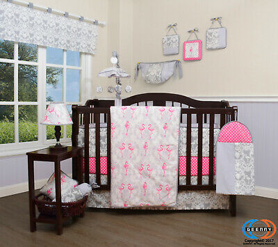 13PCS New Airplane Baby Nursery Crib Bedding Sets  Holiday Special