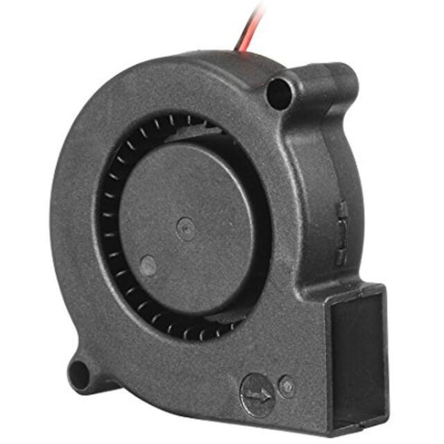 uxcell 50mm x 15mm 12V DC Blower Cooling Fan Long Life Dual Ball Bearing