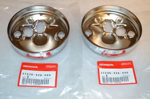 Honda 750 Speedo /& Tach Cover Plate 550 650 900 1100 37236-426-000 37246-426-000