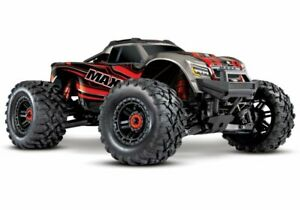 Traxxas-Maxx-4S-1-10-4WD-Monster-Truck-Brushless-TQi-90-km-h-rot-89076-4R