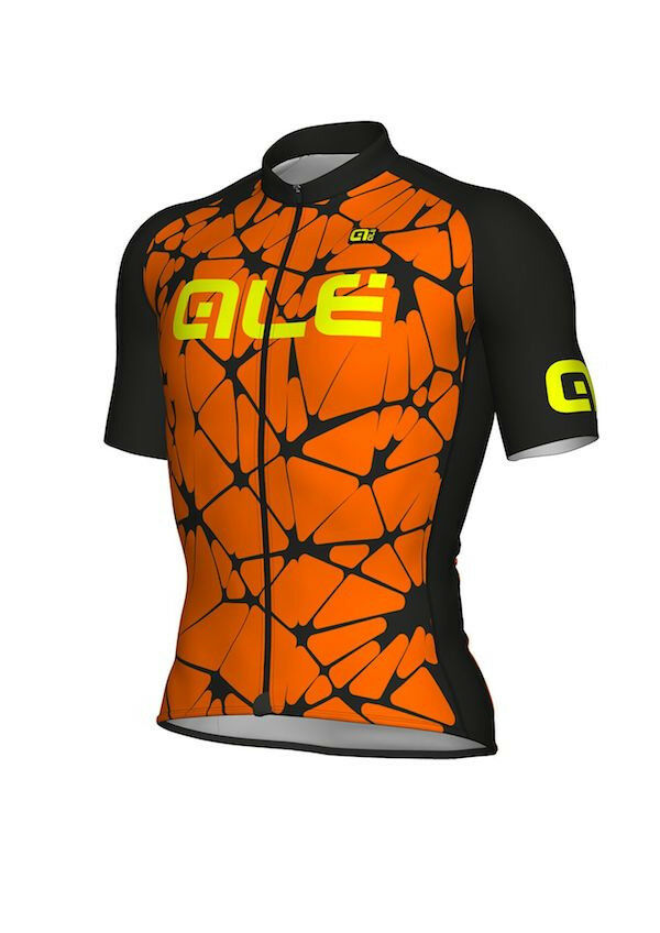 SHIRT ALE' CRACLE orange FLUO black Size  XXL  exclusive