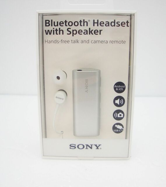 Sony Sbh56 Wireless Bluetooth Stereo Headset With Speaker Retail Packed For Sale Online