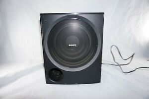 Sony-SA-WP890-High-Quality-80-Watt-Powered-Front-Firing-Subwoofer-Speaker-Tested