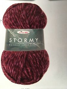 King-Cole-big-value-super-chunky-Stormy-premium-acrylic-yarn-1x-100g-ball