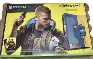 Xbox-One-X-Cyberpunk-2077-Limited-Edition-1TB-Console-Bundle-NEW-SHIPS-TODAY