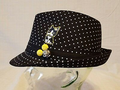 66af87d0d REBECCA BONBON 100% Cotton Fedora Hat -Juniors | eBay