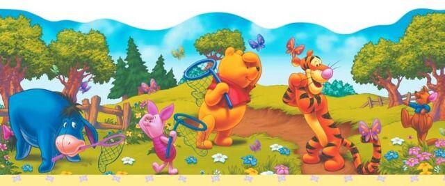 Kinderzimmer Bordüre Disney Winnie Pooh selbstklebend 4 /lfm.