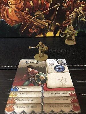 Zombicide GREEN HORDE New Kickstarter Exclusive Hero Anton Guffen Dash Card