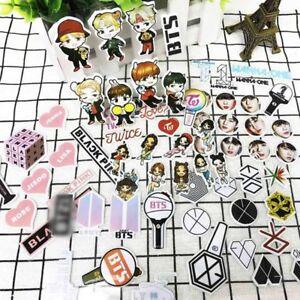 Details about KPOP BTS EXO Bubble Stickers TWICE WANNAONE BLACKPINK DIY  Phone Sticker UK