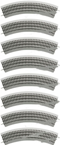 LIONEL FASTRACK 6-12015 O36 CURVE TRACK 8-PACK FULL CIRCLE NEW W//2019 CATALOG