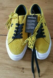 dark yellow converse