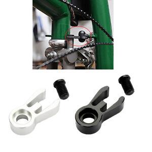 Ultralight Folding Bike Front Fork Catcher Head Tube Holder Clamp for Brompton