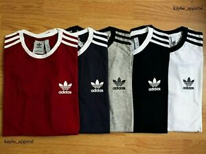 Adidas-Originals-Retro-California-trefoil-short-sleeves-crew-neck-mens-S-M-L-XL