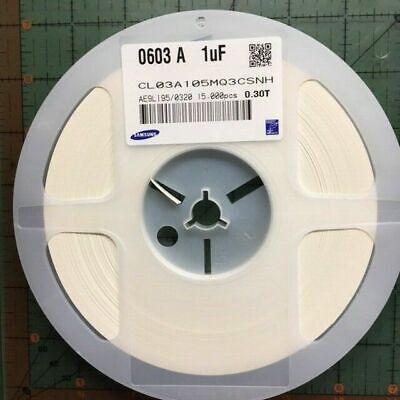 Samsung SMD Capacitor 0201 1uF 6.3v X5R CL03A105MQ3CSNC Cell Repair 100pcs