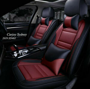 Maroon Burgundy Car Seat Cover For Bmw 3 Series Bmw 320i 5 Series