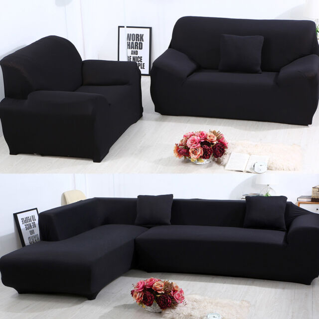 Sensational Universal Stretch Chair Sofa Covers 1 2 3 4 Seater Protector Couch Slipcover Us Ibusinesslaw Wood Chair Design Ideas Ibusinesslaworg