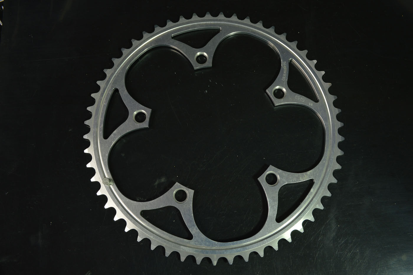 New chainring Shimano dura ace alloy 55 t bcd- 130