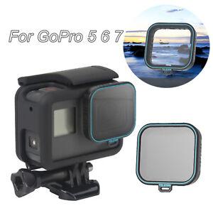 Neu-Telesin-CPL-Polarisator-Lens-Filter-Fuer-Gopro-Hero-7-6-5-Sport-Action-Kamera