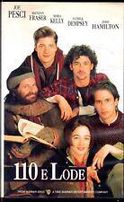 110 e lode (1994) VHS Warner Bros. Joe Pesci Moira Kelly Alek Keshishian
